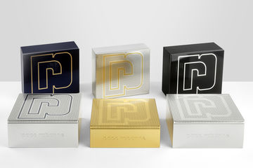 Cosfibel creates perforated coffrets for Paco Rabanne