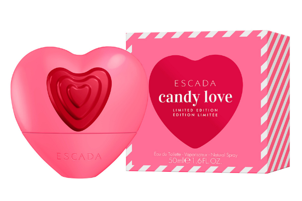 Escada Candy Love's hot-pink heart
