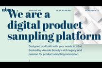 Arcade Beauty launches Abeo digital sampling initiative in Europe