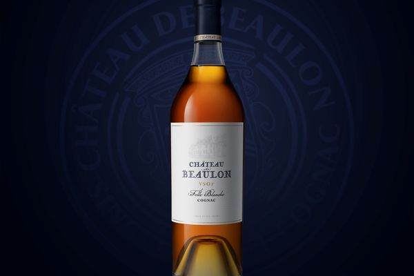 Wine-inspired redesign for Château de Beaulon VSOP
