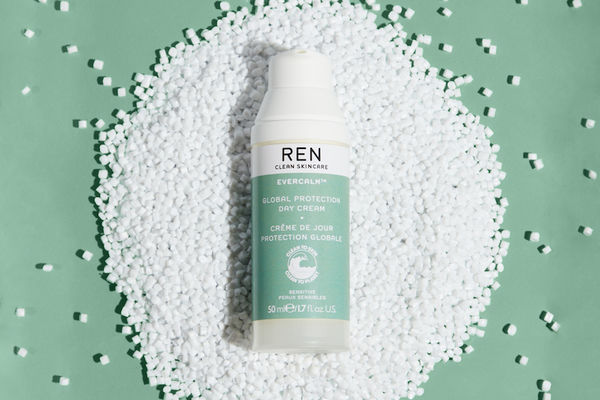 Ren launches chemically recycled plastic airless bottle