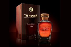Glasgow Whisky enriches The Munros single cask collection